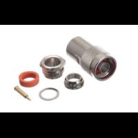 Destockage Lot de 50 connecteurs à serrer (clamp) N mâle pour câble coaxial diamètre 10.30mm