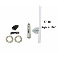 Point d 39 acces wifi exterieur magasin for Antenne wifi sectorielle exterieur
