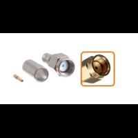 Connecteur RP-SMA mâle à sertir pour câble coaxial 5.4 mm à 6.1mm