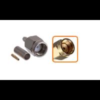 Connecteur RP-SMA mâle à sertir pour câble coaxial 2.7mm