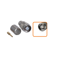 Connecteur RP-TNC mâle à sertir pour câble coaxial 10.30 mm