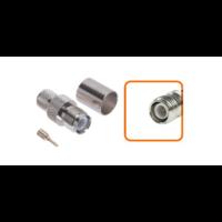 Connecteur RP-TNC femelle à sertir pour câble coaxial 10.30 mm