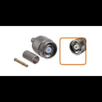 Connecteur RP-TNC mâle à sertir pour câble coaxial 5.4 mm à 6.1mm