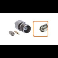 Connecteur RP-TNC femelle à sertir pour câble coaxial 2.7mm