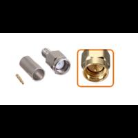 Connecteur SMA mâle à sertir pour câble coaxial 5.4 mm à 6.1mm