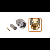 Connecteur SMA mâle à sertir pour câble coaxial 2.7mm