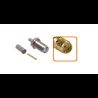 Connecteur SMA femelle à sertir pour câble coaxial 2.7mm