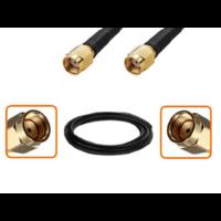 Câble RP-SMA mâle et RP-SMA mâle diamètre 6 mm longueur 1 à 12 mètres