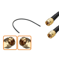 Câble longueur 10 cm à 90 cm RPSMA mâle vers RPSMA mâle