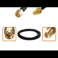 Câble SMA mâle et RP-SMA femelle diamètre 6 mm longueur 1 à 12 mètres