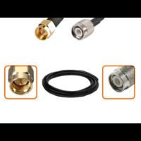 Câble SMA mâle et TNC mâle diamètre 6 mm longueur 1 à 12 mètres