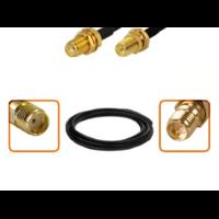 Câble SMA femelle et RP-SMA femelle diamètre 6 mm longueur 1 à 12 mètres