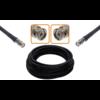 Câble haute qualité BNC mâle et BNC mâle diamètre 10.30 mm longueur 1 à 30 mètres