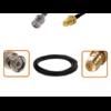 Câble BNC mâle et RP-SMA femelle diamètre 6 mm longueur 1 à 12 mètres