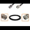 Câble BNC mâle et TNC mâle diamètre 6 mm longueur 1 à 12 mètres