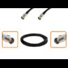 Câble BNC femelle et BNC femelle diamètre 6 mm longueur 1 à 12 mètres