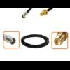 Câble BNC femelle et RPSMA femelle dimètre 6 mm longueur 1 à 12 mètres