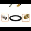 Câble BNC femelle et SMA femelle diamètre 6 mm longueur 1 à 12 mètres
