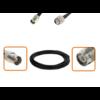 Câble BNC femelle et TNC mâle diamètre 6 mm longueur 1 à 12 mètres