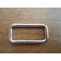 Boucle rectangle - Argent
