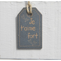 Je t'aime fort