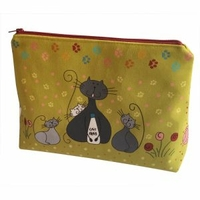Grande trousse chats verts