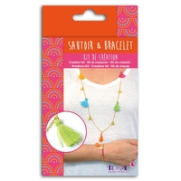 Kit sautoir et bracelet - Bollywood