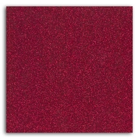 Plaque de flex paillettes - rouge