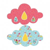 Kit couture - nuage mobile rose