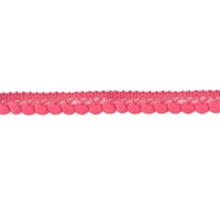 galon mini pompons - rose fushia