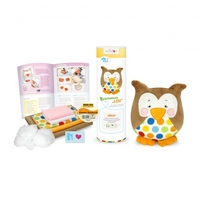 Kit Hibou lou - Marron