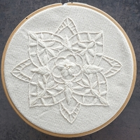 Kit broderie - White mandala