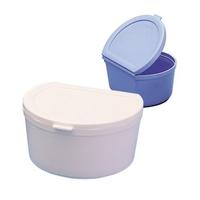 Boîte à dentier ADHESIA bleue