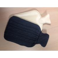 Bouillotte tricotée Anthracite
