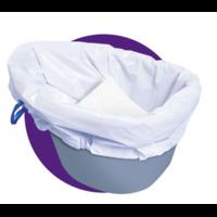 Protèges seau hygiénique CARE BAG rouleau de 20 pièces