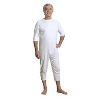 Pyjama-combinaison mixte GIBRALTAR blanc