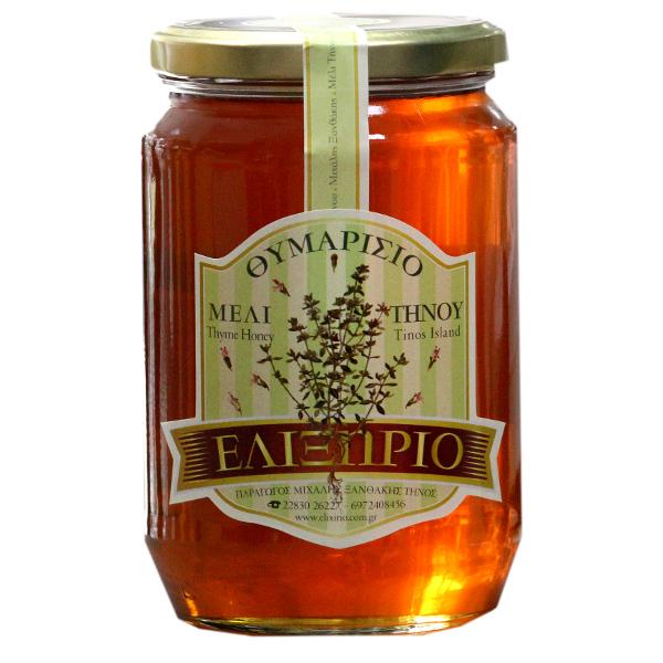 miel de thym pour la gorge