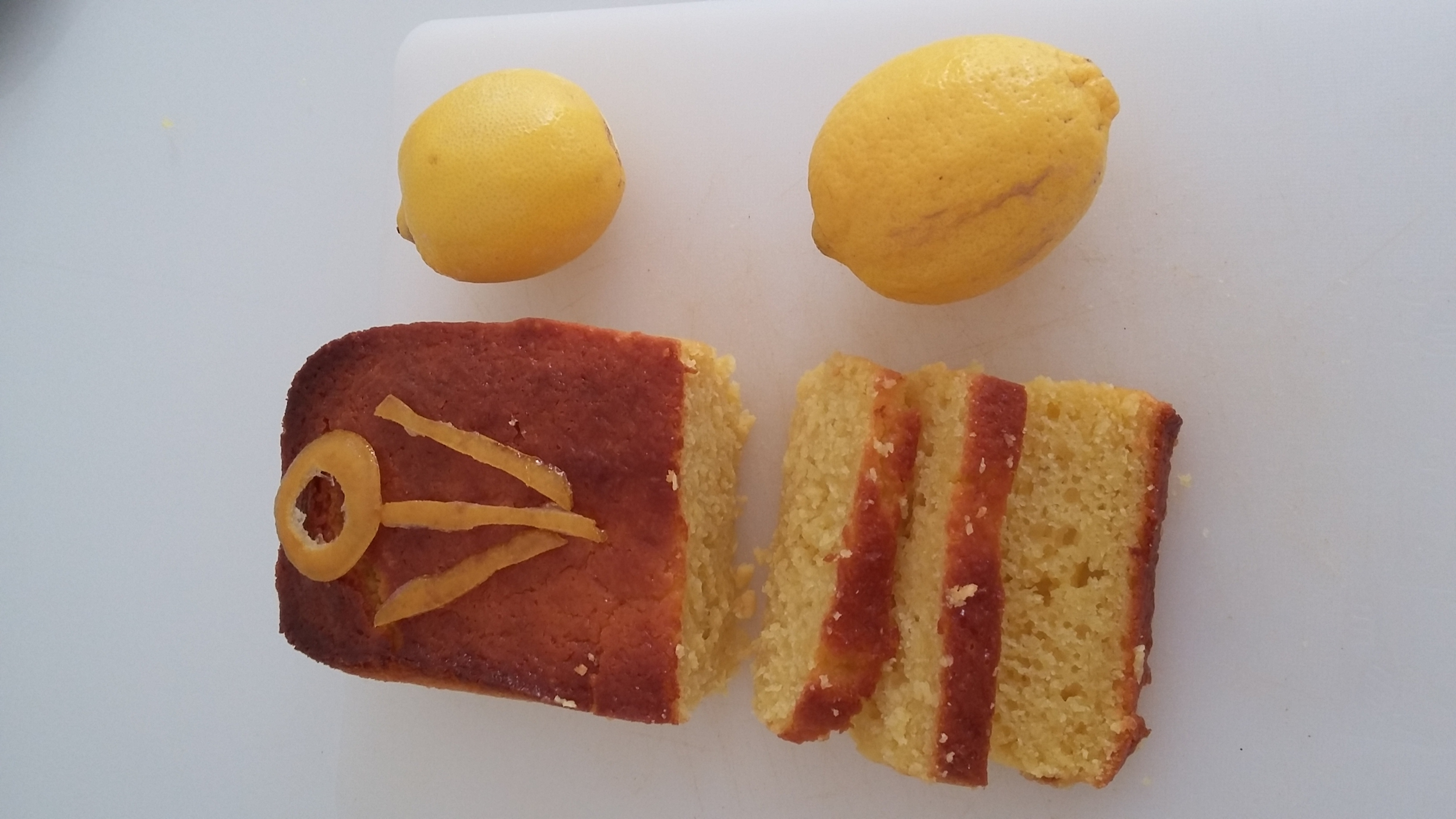 Cake Citron Fruits Secs Miel