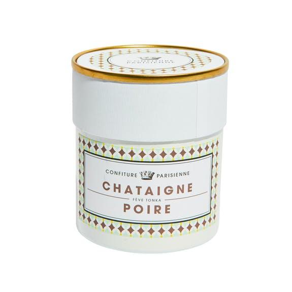 chataigne-poire-tonka-confiture-parisienne-oranessence