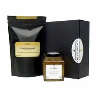Thé parfumé et Miel de cru - Duo à personnaliser