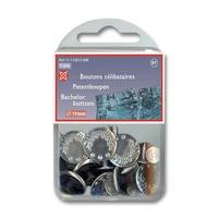 Boutons Celibataires 17mm (Blister 10 pieces)
