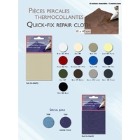 Pieces Percale Thermo Collantes (40 cm x 10 cm)