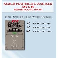 Aiguille Machine Industrielle SYS134R-135-70 Talon Rond (Blister de 10)