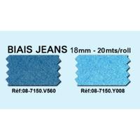 Biais Jeans 18mm Colori V560 (Rouleau 20 metres)