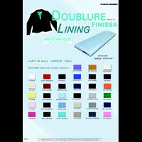 Doublure Antistatique 100% Polyester Largeur 150 cm (Rouleau 25 metres)