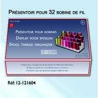 Pack de 5 x Presentoir pour 32 Bobines de fil