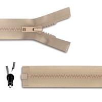 Zip Maille 5 mm Plastique Glissiere DETACHABLE (40 a 85 cm)