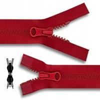Zip Maille 5 mm Plastique DETACHABLE Double Curseur (80 cm)