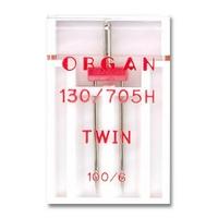 Double Aiguille Twin Machine Familiale 100 / 6 (Blister de 1)