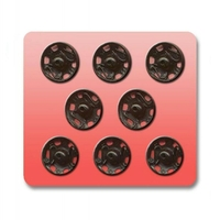Boutons pression a coudre Metal 11.5mm (Blister 8 pieces)